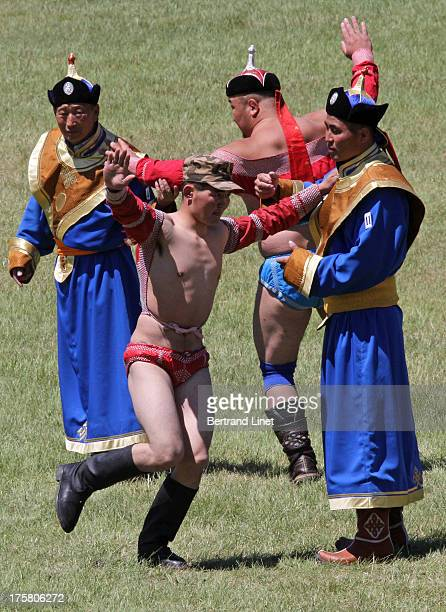 Mongolian wrestling is the highlight of Naadam, a traditional festival held every summer in Mongolia. Before and after the match, each wrestler does...