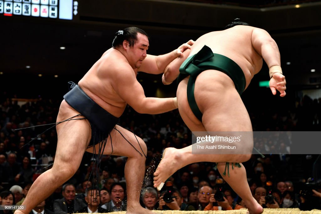 Grand Sumo New Year Tournament - Day 10