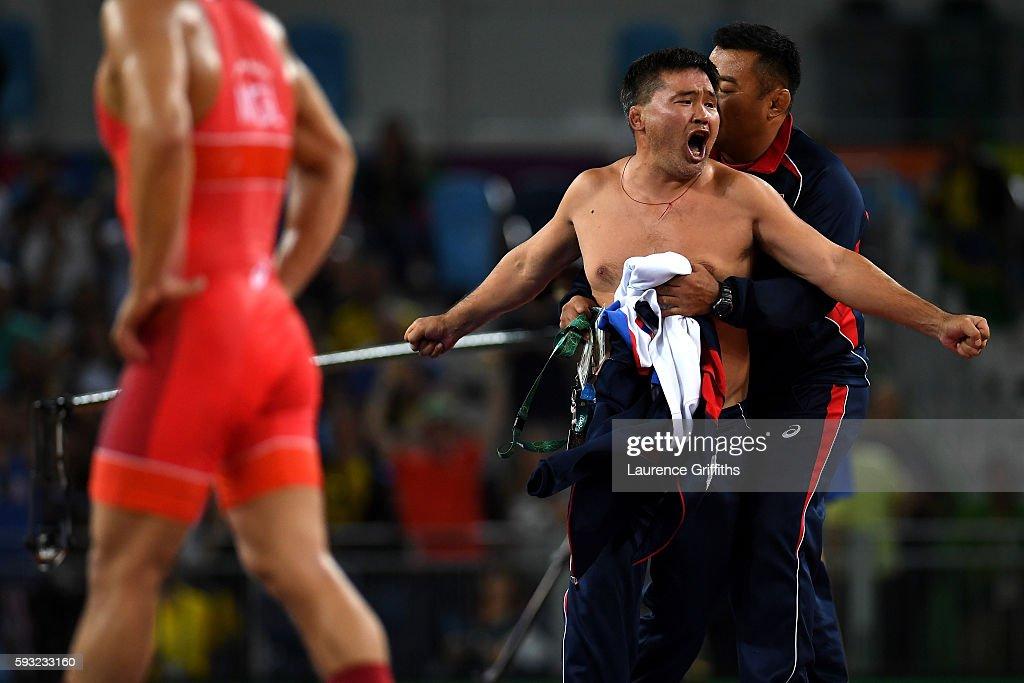 Wrestling - Olympics: Day 16 : News Photo