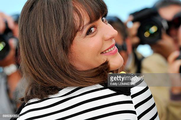 Monia Chokri at the photo call for Heartbeats during the 63rd Cannes International Film Festival