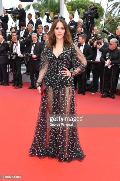 Monia Chokri attends the screening of Once Upon A Time In Hollywood during the 72nd annual Cannes Film Festival on May 21 2019 in Cannes France