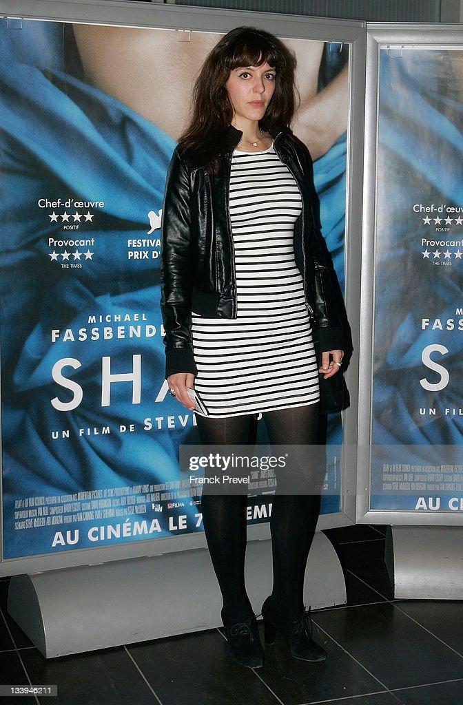 'Shame' - Paris Premiere