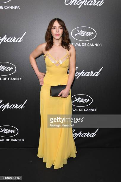 Monia Chokri attends the The Chopard Trophy event during the 72nd annual Cannes Film Festival on May 20 2019 in Cannes France