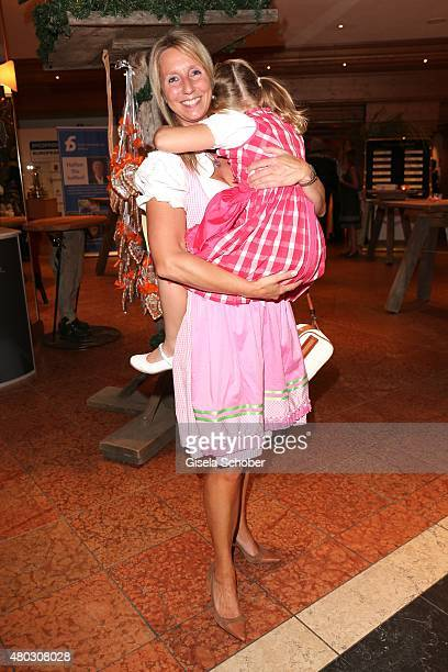 Monic Ottke and her daughter Emily Ottke during a Bavarian Evening ahead of the Kaiser Cup 2015 on July 10 2015 in Bad Griesbach near Passau Germany