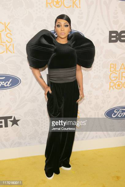 Monica attends Black Girls Rock 2019 Hosted By Niecy Nash at NJPAC on August 25 2019 in Newark New Jersey