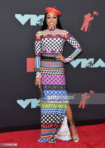 Monica attends the 2019 MTV Video Music Awards at Prudential Center on August 26 2019 in Newark New Jersey