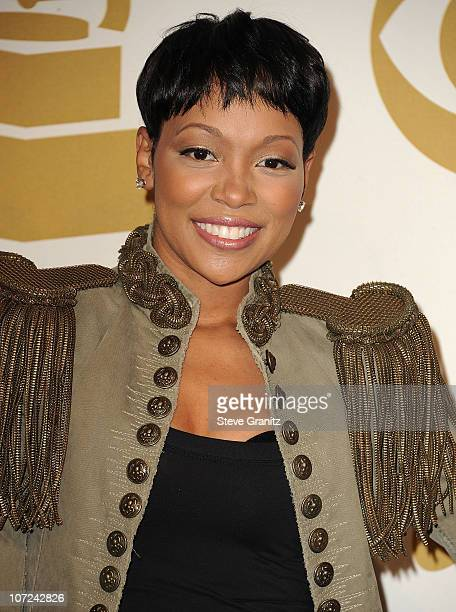 Monica attends the GRAMMY Nominations Concert Live!!at Club Nokia on December 1, 2010 in Los Angeles, California.