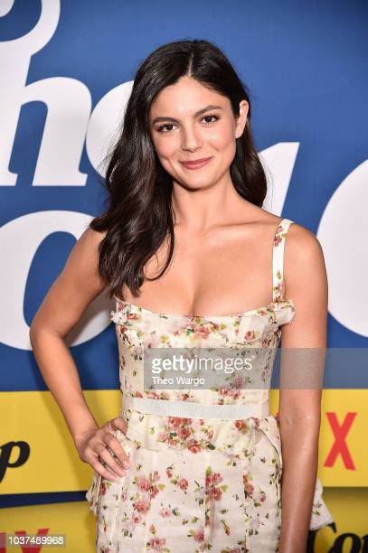 Monica Barbaro attends The Good Cop Season 1 Premiere at AMC 34th Street on September 21 2018 in New York City