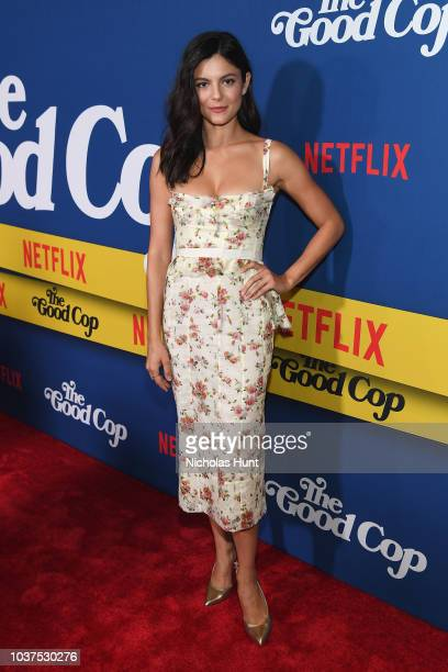 Monica Barbaro attends the New York Premiere of Netflix's Original Series The Good Cop at AMC Loews 34th Street 14 on September 21 2018 in New York...