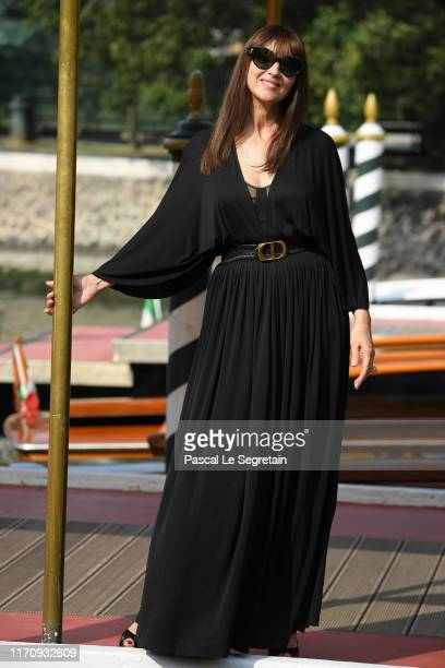 Monica Bellucci arrives at the 76th Venice Film Festival on August 29 2019 in Venice Italy