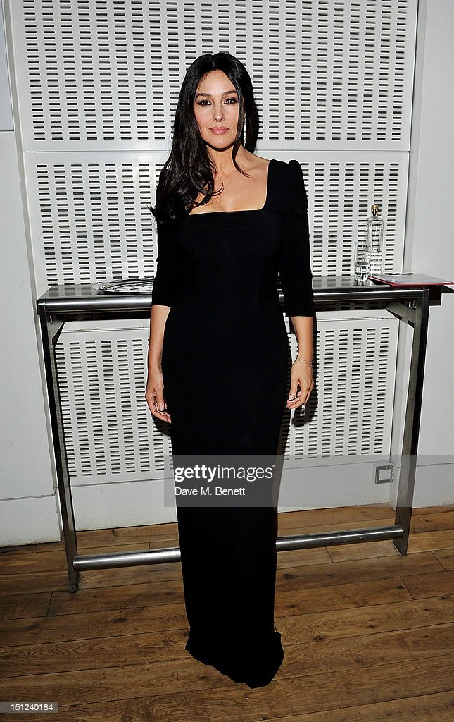 Monica Bellucci arrives at the GQ Men Of The Year Awards 2012 at The Royal Opera House on September 4, 2012 in London, England.