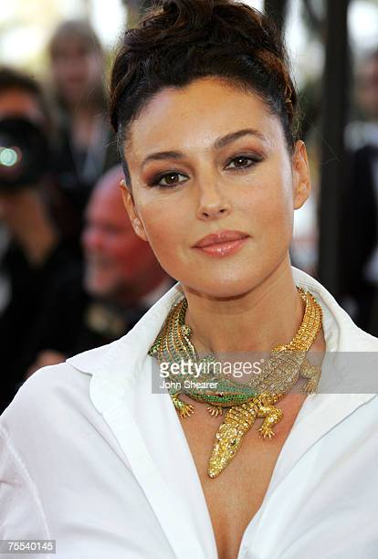 Monica Bellucci at the Palais des Festival in Cannes, France.