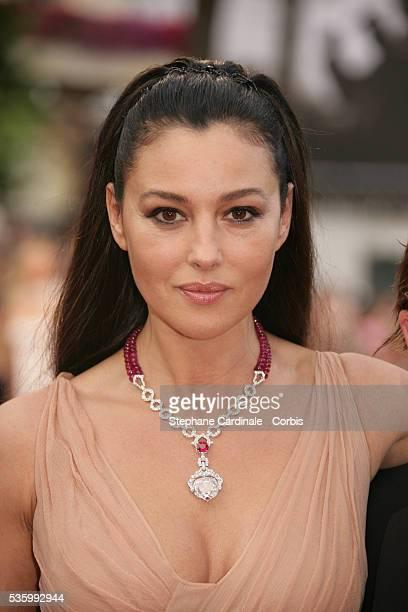 Monica Bellucci at the premiere of 'Transylvania' during the 59th Cannes Film Festival