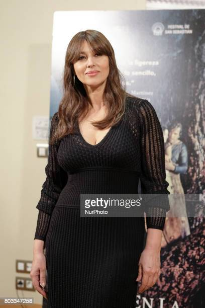 Monica Bellucci attends a photocall for 'On The Milky Road' at Urso Hotel on June 29 2017 in Madrid Spain