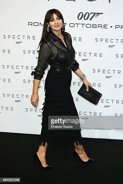 Monica Bellucci attends a premiere for 'Spectre' at Auditorium Della Conciliazione on October 27 2015 in Rome Italy