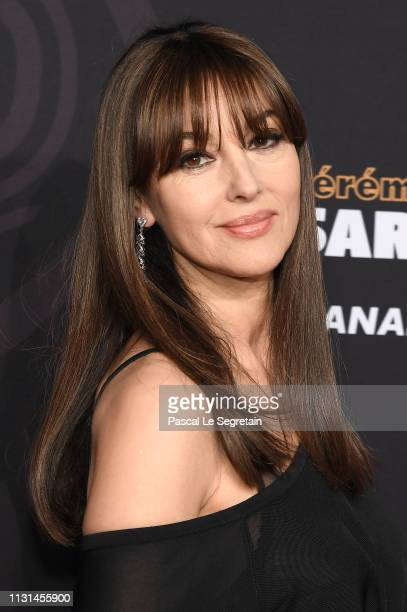 Monica Bellucci attends Cesar Film Awards 2019 at Salle Pleyel on February 22 2019 in Paris France