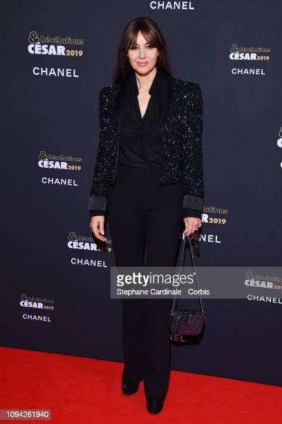 Monica Bellucci attends 'CesarRevelations 2019' at Le Petit Palais on January 14 2019 in Paris France