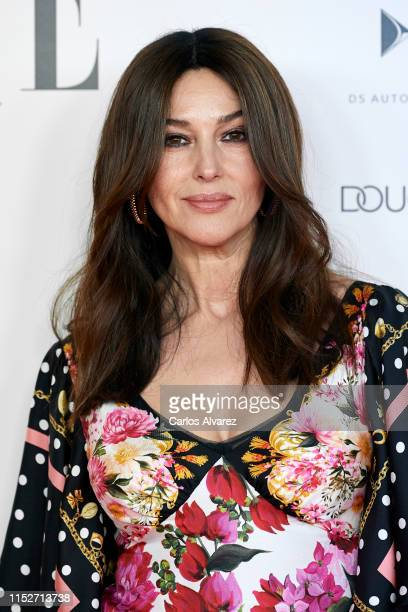 Monica Bellucci attends ELLE Charity Gala 2019 to raise funds for cancer at Intercontinental Hotel on May 30 2019 in Madrid Spain