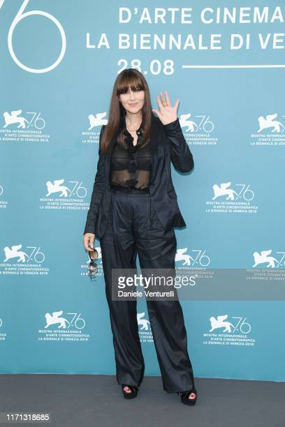 "Monica Bellucci attends ""Irreversible"" photocall during the 76th Venice Film Festival at Sala Grande on August 31, 2019 in Venice, Italy."