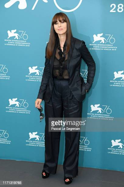 Monica Bellucci attends Irreversible photocall during the 76th Venice Film Festival at Sala Grande on August 31 2019 in Venice Italy