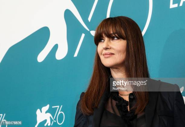 Monica Bellucci attends quotIrreversiblequot photocall during the 76th Venice Film Festival at Sala Grande on August 31 2019 in Venice Italy