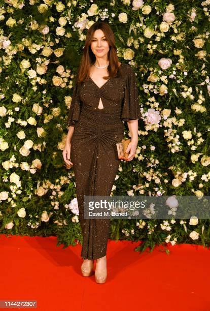 Monica Bellucci attends the 10th Annual Filmmakers Dinner hosted by Charles Finch Edward Enninful and Michael Kors at the Hotel du CapEdenRoc on May...