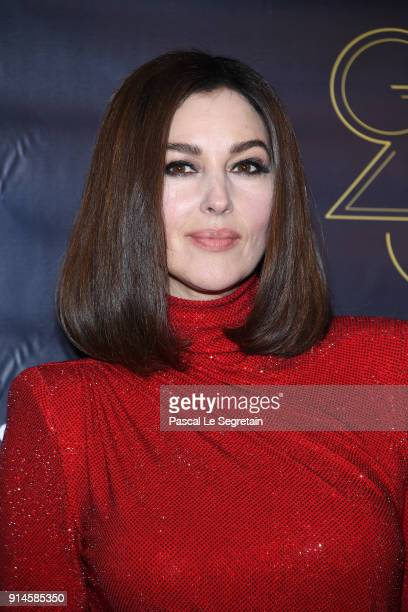 Monica Bellucci attends the 23rd Lumieres Award Ceremony at Institut du Monde Arabe on February 5 2018 in Paris France