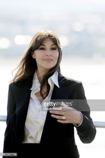 Monica Bellucci attends the 65th International Film Festival of San Sebastian on September 27 2017 in San Sebastian Spain