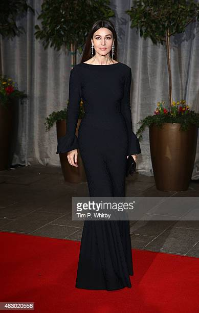 Monica Bellucci attends the after party for the EE British Academy Film Awards at The Grosvenor House Hotel on February 8 2015 in London England