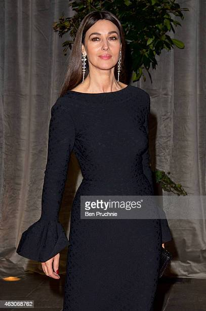 Monica Bellucci attends the after party for the EE British Academy Film Awards at The Grosvenor House Hotel on February 8, 2015 in London, England.