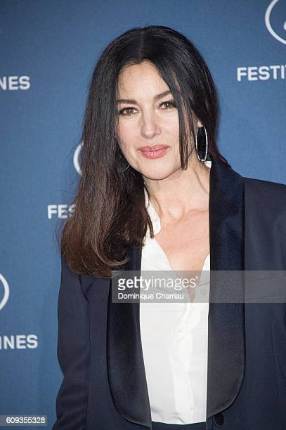 Monica Bellucci attends the Cannes Film Festival 70th Anniversary Party at Palais Des Beaux Arts on September 20 2016 in Paris France