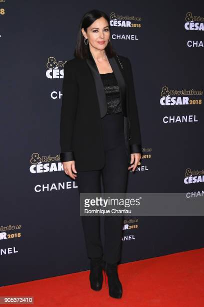 Monica Bellucci attends the 'Cesar Revelations 2018' Party at Le Petit Palais on January 15 2018 in Paris France