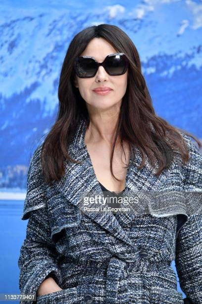 c52f6f4e06 Monica Bellucci attends the Chanel show as part of the Paris Fashion Week  Womenswear Fall/