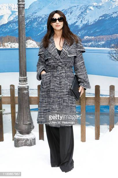 Monica Bellucci attends the Chanel show as part of the Paris Fashion Week Womenswear Fall/Winter 2019/2020 on March 05 2019 in Paris France