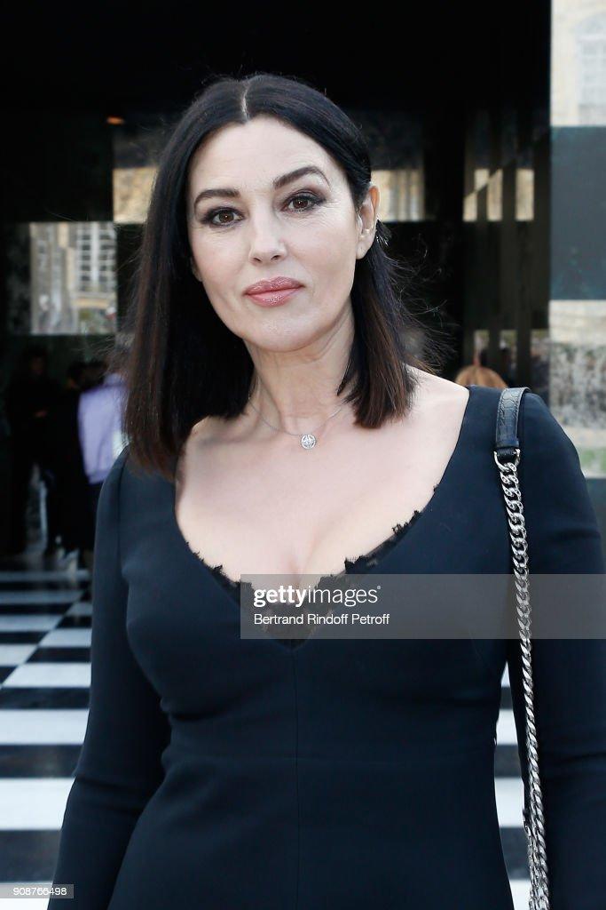Christian Dior : Front Row - Paris Fashion Week - Haute Couture Spring Summer 2018 : Foto jornalística