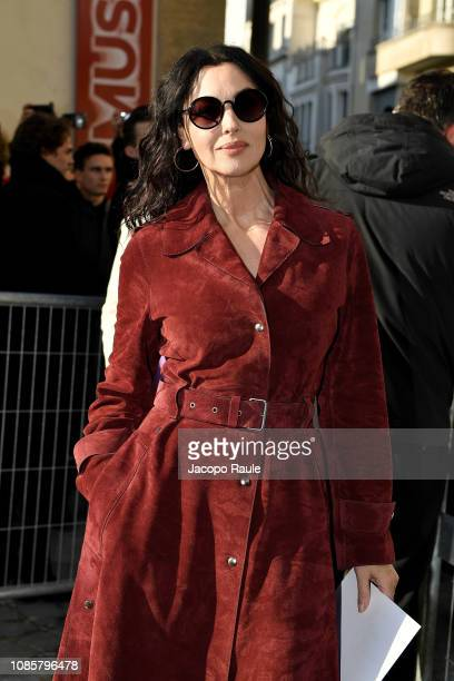Monica Bellucci attends the Christian Dior Haute Couture Spring Summer 2019 show as part of Paris Fashion Week on January 21 2019 in Paris France