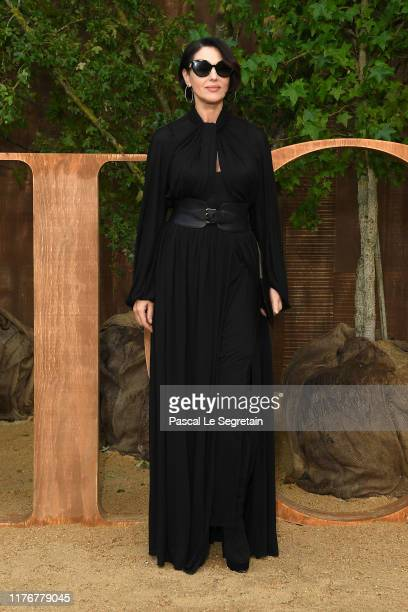Monica Bellucci attends the Christian Dior Womenswear Spring/Summer 2020 show as part of Paris Fashion Week on September 24, 2019 in Paris, France.