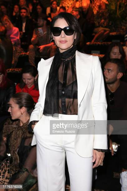 Monica Bellucci attends the Dolce & Gabbana fashion show during the Milan Fashion Week Spring/Summer 2020 on September 22, 2019 in Milan, Italy.