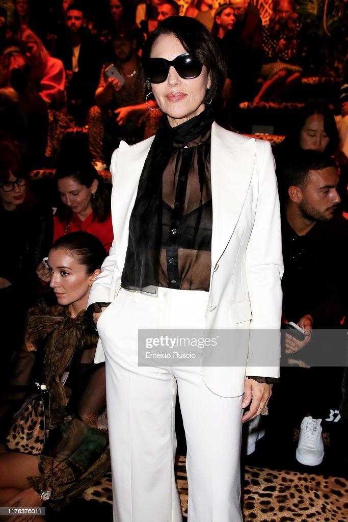 Dolce & Gabbana - Front Row - Milan Fashion Week Spring/Summer 2020 : Foto jornalística