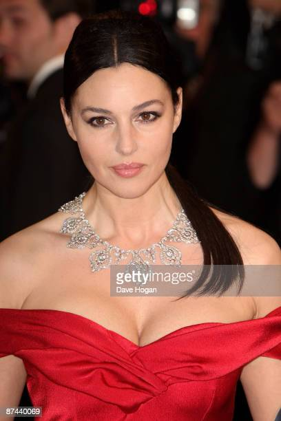 Monica Bellucci attends the Don't Look Back Premiere held at the Palais Des Festival during the 62nd International Cannes Film Festival on May 16...