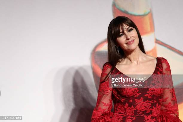 "Monica Bellucci attends the ""Irreversible"" Red Carpet during the 76th Venice Film Festival at Sala Grande on August 31, 2019 in Venice, Italy."