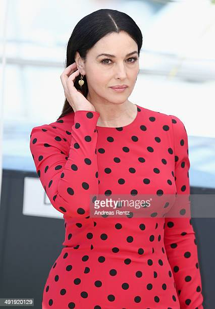 Monica Bellucci attends the La Meraviglie photocall during the 67th Annual Cannes Film Festival on May 18 2014 in Cannes France