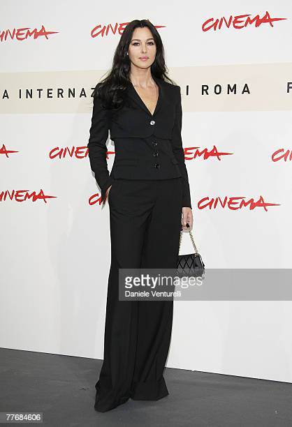 Monica Bellucci attends the Le Deuxieme Souffle Photocall during Day 1 of the 2nd Rome Film Festival on October 18 2007 in Rome Italy
