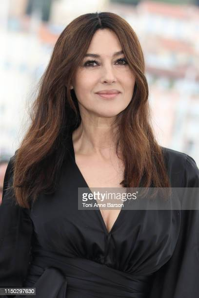 "Monica Bellucci attends the photocall for ""The Best Years of a Life "" during the 72nd annual Cannes Film Festival on May 19, 2019 in Cannes, France."