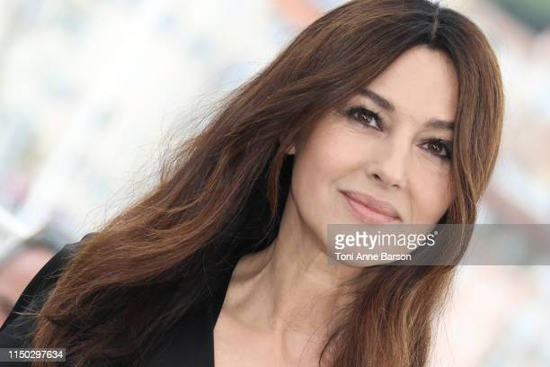 """Monica Bellucci attends the photocall for """"The Best Years of a Life """" during the 72nd annual Cannes Film Festival on May 19, 2019 in Cannes, France."""