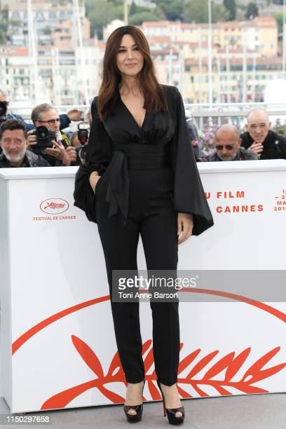 Monica Bellucci attends the photocall for The Best Years of a Life during the 72nd annual Cannes Film Festival on May 19 2019 in Cannes France