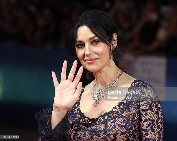 Monica Bellucci attends the premiere of 'On The Milky Road' during the 73rd Venice Film Festival at Sala Grande on September 9 2016 in Venice Italy