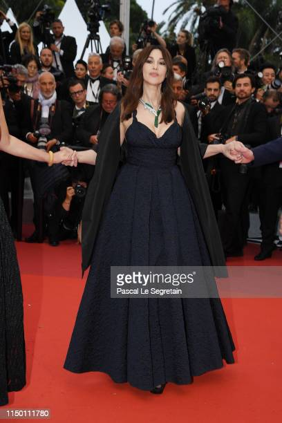 Monica Bellucci attends the screening of Les Plus Belles Annees D'Une Vie during the 72nd annual Cannes Film Festival on May 18 2019 in Cannes France