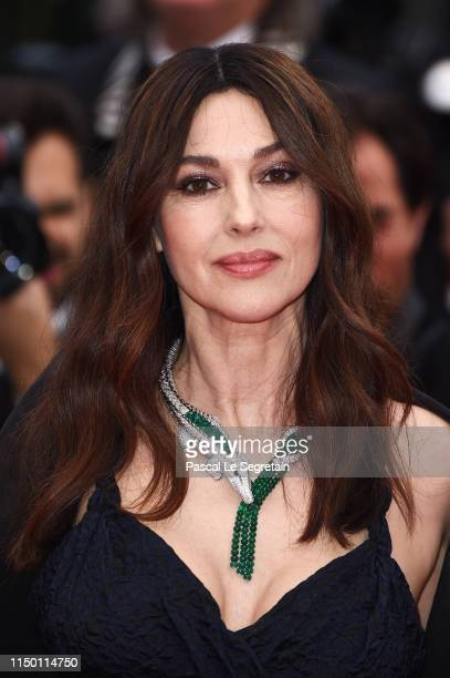 "Monica Bellucci attends the screening of ""Les Plus Belles Annees D'Une Vie"" during the 72nd annual Cannes Film Festival on May 18, 2019 in Cannes,..."