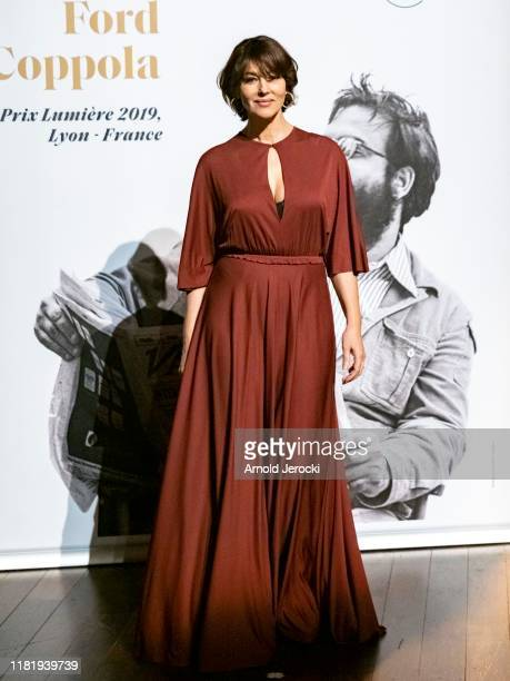 Monica Bellucci attends the tribute to Francis Ford Coppola during the 11th Film Festival Lumiere on October 18 2019 in Lyon France